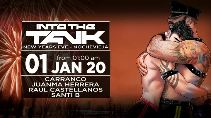 Into The Tank (New Year´s Eve - Nochevieja) à Madrid le mer.  1 janvier 2020 de 00h30 à 08h00 (Clubbing Gay, Bear)
