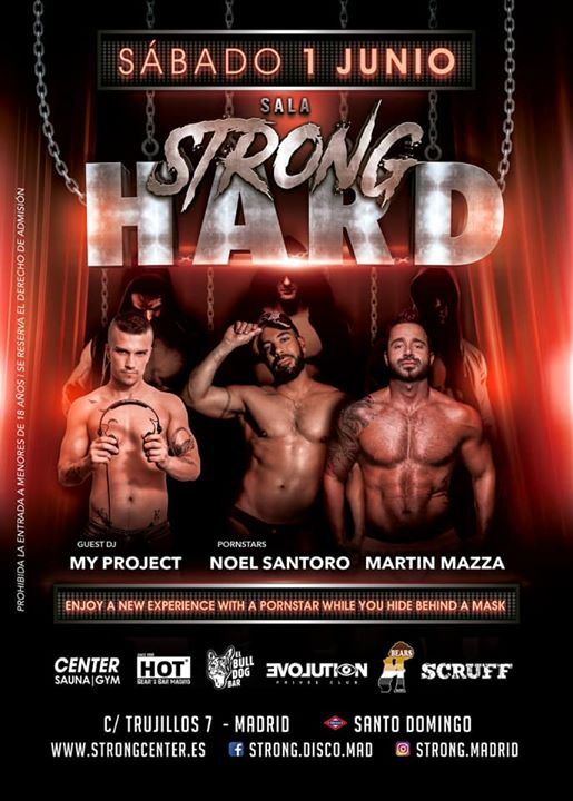 Strong Hard in Madrid le Sat, June  1, 2019 at 11:30 pm (Clubbing Gay, Bear)