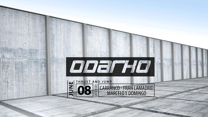 ODARKO (Thrust And Jump) à Madrid le sam.  8 juin 2019 de 23h30 à 06h00 (Clubbing Gay, Bear)
