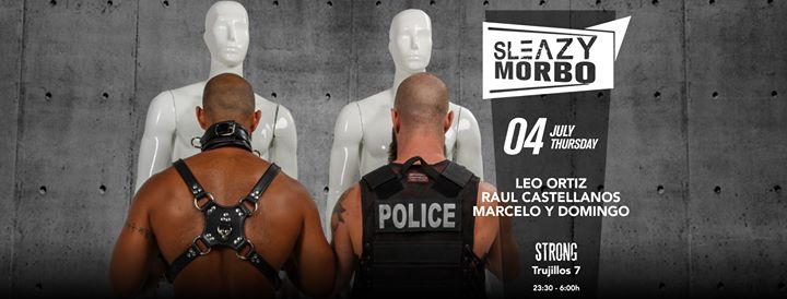 SleazyMorbo (SleazyMadrid GayPride 2019) in Madrid le Thu, July  4, 2019 from 11:30 pm to 06:30 am (Clubbing Gay, Bear)