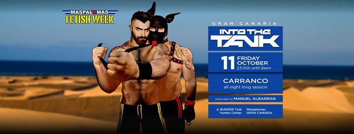 Into The Tank (Gran Canaria MFW 2019) à Playa del Ingles le ven. 11 octobre 2019 de 23h00 à 06h00 (Clubbing Gay, Bear)