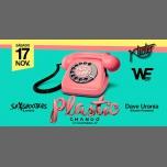 马德里Plastic - Saturday 17.11.18 - SexShooters & Dave Urania2018年11月17日,23:30(男同性恋 俱乐部/夜总会)