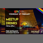 Midweek Meetup Drinks em Valletta le qua, 27 fevereiro 2019 20:00-23:00 (After-Work Gay, Lesbica, Trans, Bi)