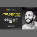Living Positively - A Talk by Christian Vincent (HIV Activist) in San Ġiljan le Mon, March  4, 2019 from 06:30 pm to 09:30 pm (Meetings / Discussions Gay, Lesbian, Trans, Bi)