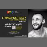 Living Positively - A Talk by Christian Vincent (HIV Activist) à San Ġiljan le lun.  4 mars 2019 de 18h30 à 21h30 (Rencontres / Débats Gay, Lesbienne, Trans, Bi)