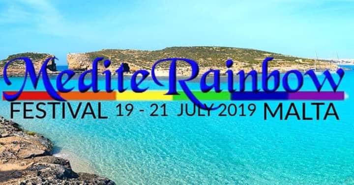 MediteRainbow Festival 19th-21st july à San Ġiljan le ven. 19 juillet 2019 de 22h30 à 04h00 (Clubbing Gay)