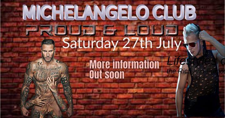 Proud & Loud in San Ġiljan le Sat, July 27, 2019 from 10:30 pm to 04:00 am (Clubbing Gay)