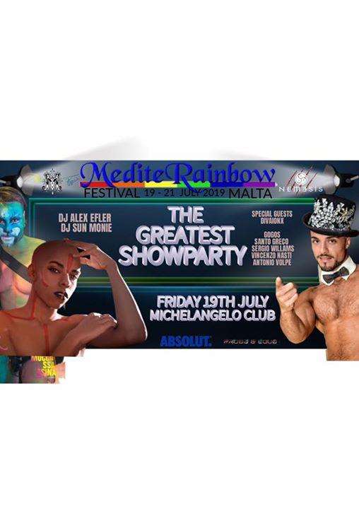 Opening Festival Party à San Ġiljan le ven. 19 juillet 2019 de 22h00 à 04h00 (Clubbing Gay)