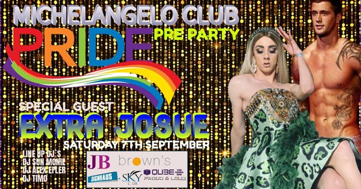 Michelangelo Pre Pride Party 2019 in San Ġiljan le Sat, September  7, 2019 from 10:00 pm to 04:00 am (Clubbing Gay)