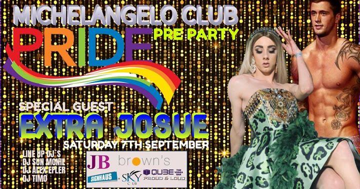 Michelangelo Pre Pride Party 2019 à San Ġiljan le sam.  7 septembre 2019 de 22h00 à 04h00 (Clubbing Gay)