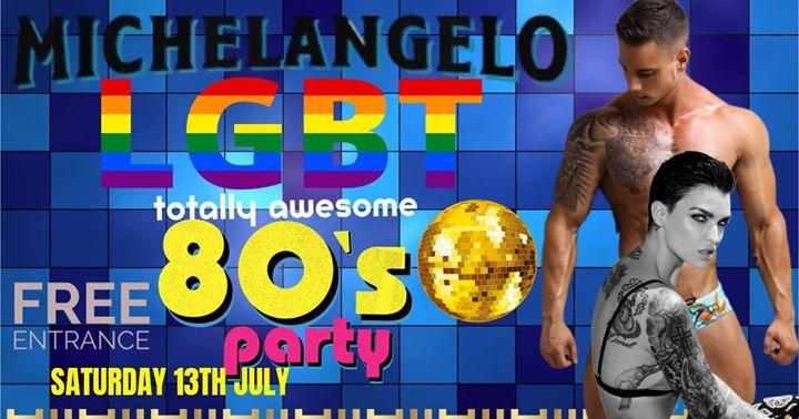 80's Party à San Ġiljan le sam. 13 juillet 2019 de 22h00 à 04h00 (Clubbing Gay)