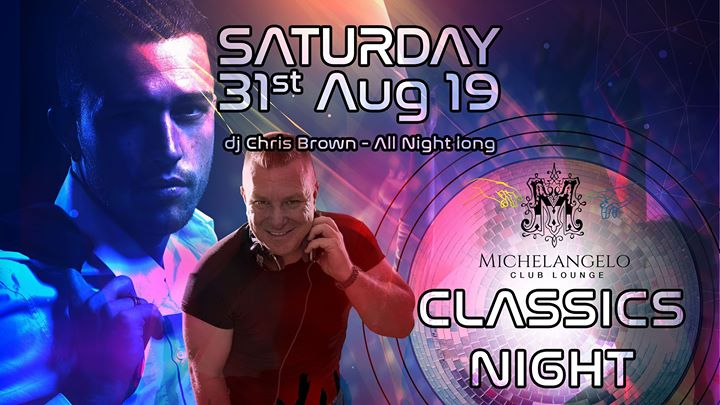 Classics night in San Ġiljan le Sat, August 31, 2019 from 10:30 pm to 05:00 am (Clubbing Gay)