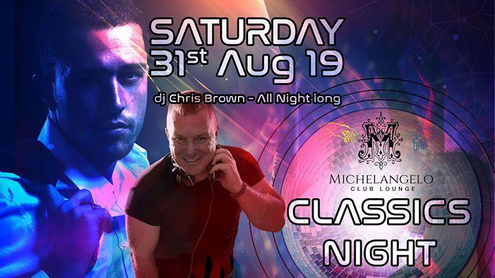 Classics night à San Ġiljan le sam. 31 août 2019 de 22h30 à 05h00 (Clubbing Gay)