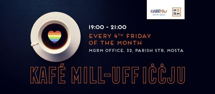 Kafe mill-Ufficcju in Valletta le Fri, September 27, 2019 from 07:00 pm to 09:00 pm (Festival Gay, Lesbian)