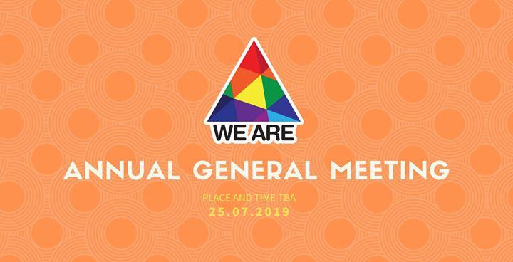 We ARE AGM 25.07.2019 in Valletta le Do 25. Juli, 2019 17.00 bis 19.00 (Festival Gay, Lesbierin, Transsexuell, Bi)