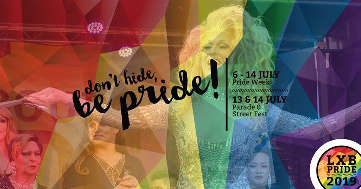 Luxembourg Pride 2019 | Street Festival à Luxembourg le dim. 14 juillet 2019 de 10h00 à 20h00 (Festival Gay, Lesbienne, Trans, Bi)