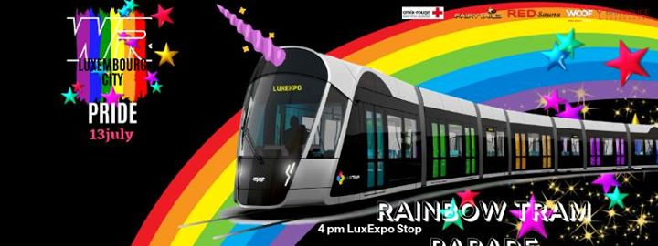 Rainbow Tram Parade a Lussemburgo le sab 13 luglio 2019 16:00-19:00 (Parate / Sfilate Gay, Lesbica, Etero friendly, Trans, Bi)