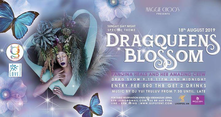 Sunday Gay Night special theme Dragqueens Blossom by Surachai en Bangkok le dom 18 de agosto de 2019 19:30-02:00 (Clubbing Gay)