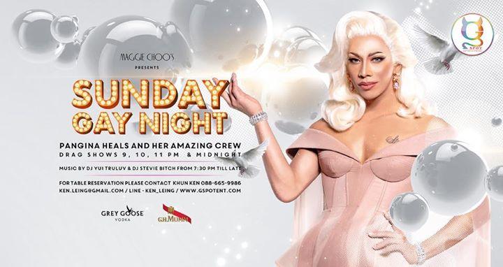 Sunday Gay Night at Maggie Choo's à Bangkok le dim. 21 juillet 2019 de 19h30 à 02h00 (After-Work Gay)