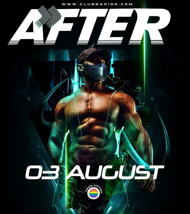 Pride AFTER in Amsterdam le Mon, August  3, 2020 from 01:00 am to 10:00 am (After Gay)