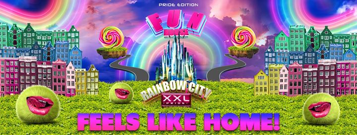 FunHouse XXL – the Pride edition 2019 a Amsterdam le sab  3 agosto 2019 20:00-09:00 (Clubbing Gay)