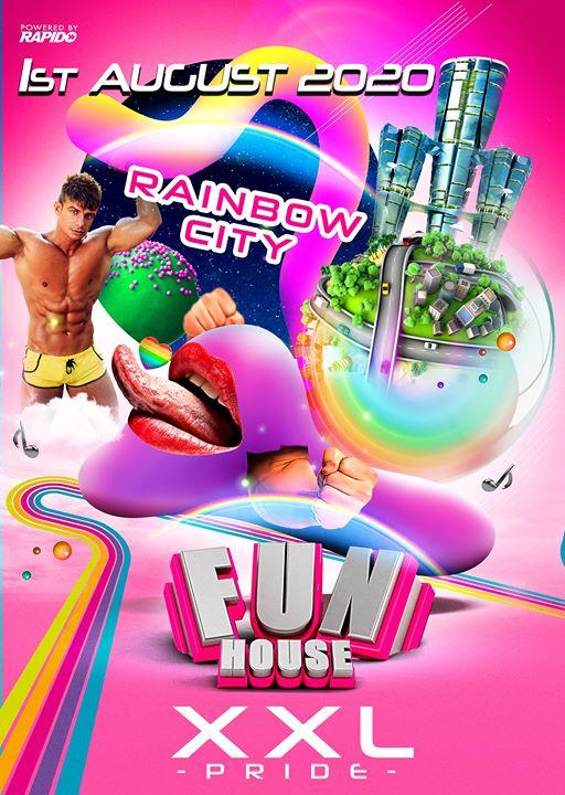 阿姆斯特丹FunHouse XXL - the Pride edition 20202020年 8月 1日,20:00(男同性恋 俱乐部/夜总会)