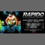 Rapido 14th birthday edition in Amsterdam le Sun, November 18, 2018 from 03:00 pm to 02:00 am (Clubbing Gay)