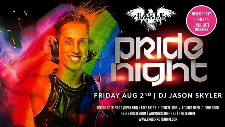 Pride Night em Amsterdam le sex,  2 agosto 2019 23:00-10:00 (Sexo Gay, Bear)