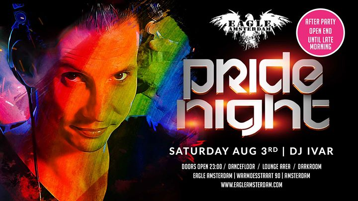 Pride Night - Crash After Party en Amsterdam le sáb  3 de agosto de 2019 23:00-10:00 (Sexo Gay, Oso)