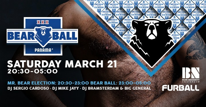 Mister Bear Netherlands 2020 Election & Bear-Ball (ABW2020) in Amsterdam le Sat, March 21, 2020 from 08:30 pm to 05:00 am (Clubbing Gay, Bear)