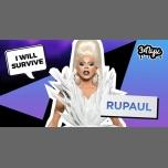 I Will Survive: RuPaul à Amsterdam le sam. 10 juin 2017 de 23h00 à 05h00 (Clubbing Gay, Lesbienne)