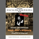 Astrid Akse's Singalong in Amsterdam le Wed, November 28, 2018 from 07:30 pm to 11:00 pm (After-Work Gay, Lesbian)