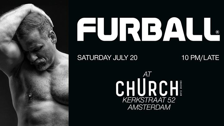 Furball at Club chUrch en Amsterdam le sáb 20 de julio de 2019 22:00-05:00 (Sexo Gay)