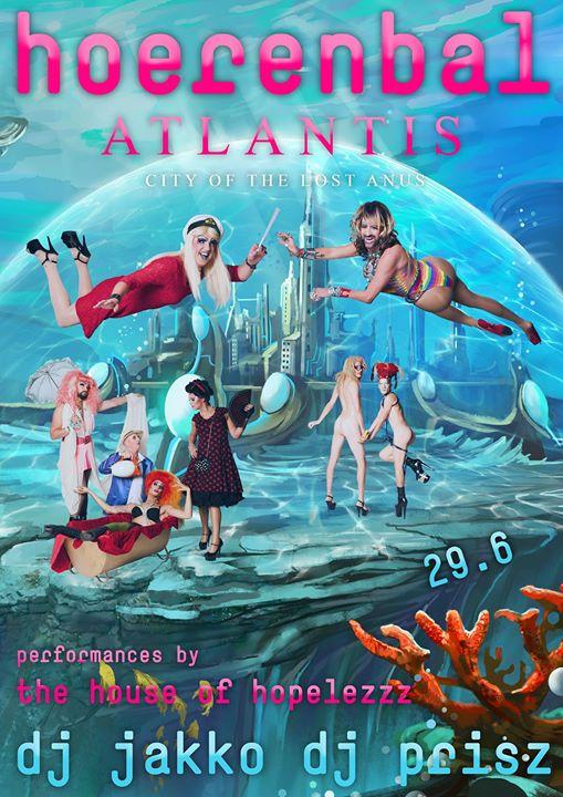 Hoerenbal - Atlantis à Amsterdam le sam. 29 juin 2019 de 22h00 à 05h00 (Sexe Gay)