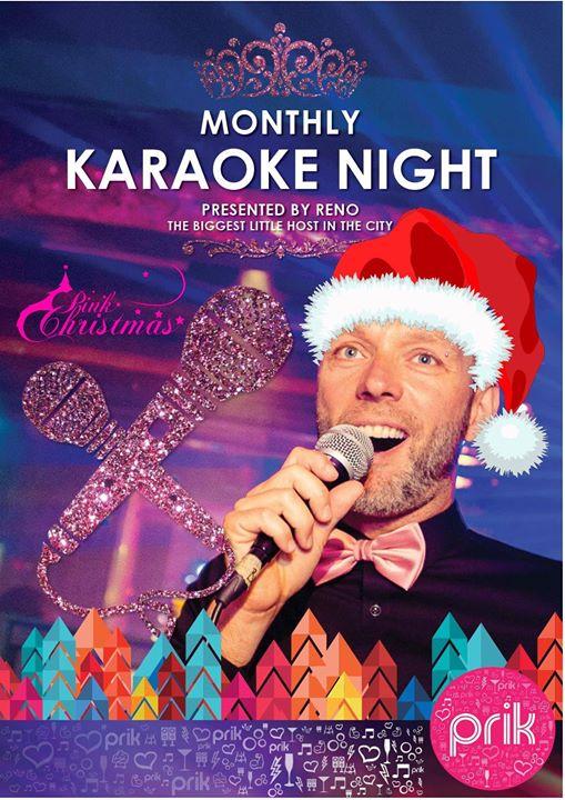 Karaoke // Pink Prikmas Edition en Amsterdam le dom 22 de diciembre de 2019 20:00-01:00 (After-Work Gay)