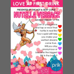 Love at first drink - with Nutella Versace in Amsterdam le Sat, February 16, 2019 from 09:00 pm to 03:00 am (Clubbing Gay)