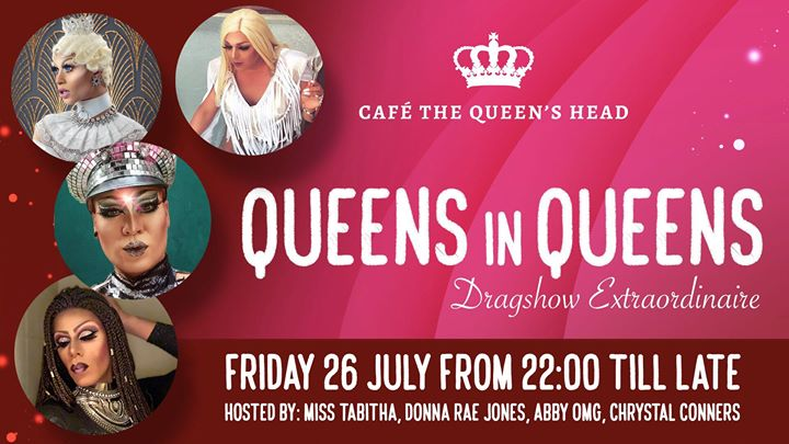Queens in Queens! in Amsterdam le Fri, July 26, 2019 from 10:00 pm to 03:00 am (Clubbing Gay, Lesbian)