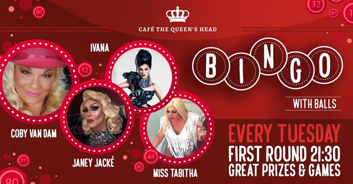 Queen's Head Bingo met Coby van Dam! in Amsterdam le Tue, August  6, 2019 from 09:00 pm to 12:30 am (After-Work Gay, Lesbian)