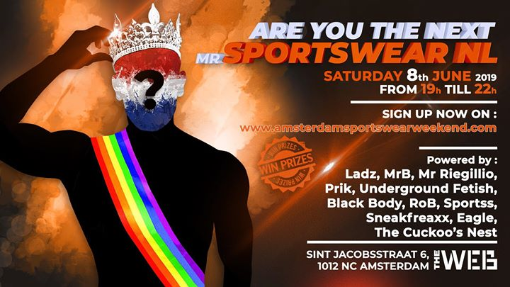 ASW Mister Sportswear NL in Amsterdam le Sa  8. Juni, 2019 19.00 bis 22.00 (After-Work Gay, Bear)