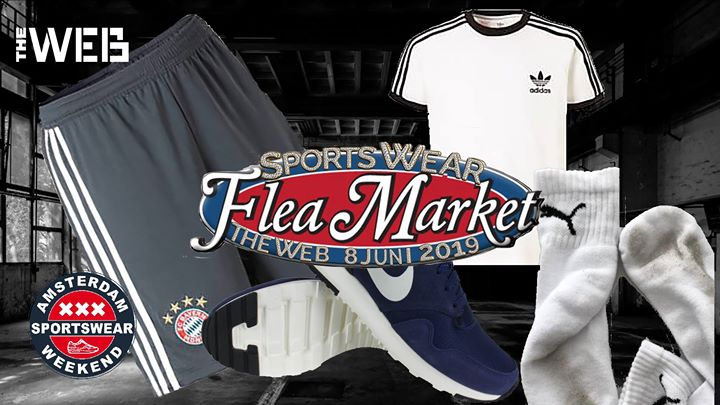 Sportswear flea market in Amsterdam le Sa  8. Juni, 2019 13.00 bis 17.30 (After-Work Gay, Bear)