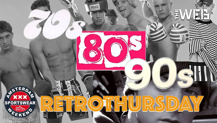 RetroThursday the ASW edition à Amsterdam le jeu.  6 juin 2019 de 19h00 à 01h00 (After-Work Gay, Bear)