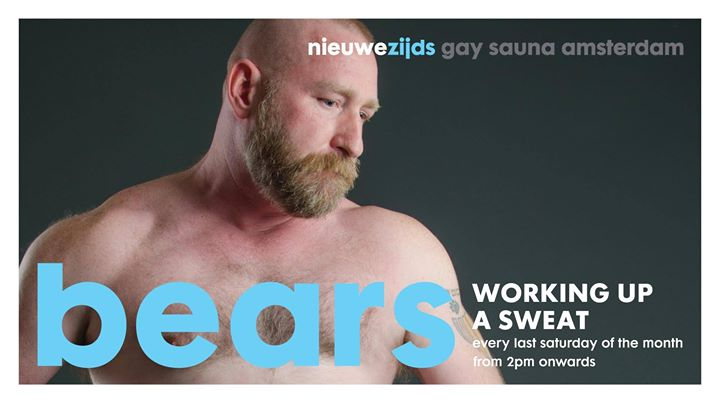 Bears at Sauna NZ in Amsterdam le Sat, August 31, 2019 from 02:00 pm to 11:00 pm (Sex Gay)