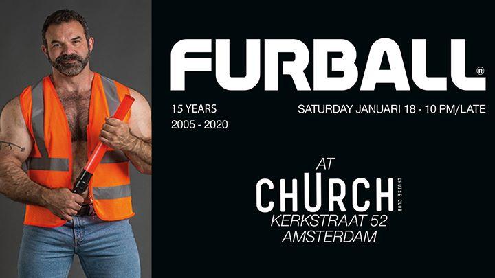 阿姆斯特丹Furball at club chUrch - January 182020年10月18日,22:00(男同性恋 俱乐部/夜总会)