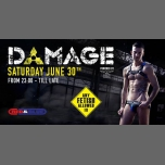 Damage Antwerp 30-06-2018 in Antwerp le Sat, June 30, 2018 from 11:00 pm to 07:00 am (Clubbing Gay)