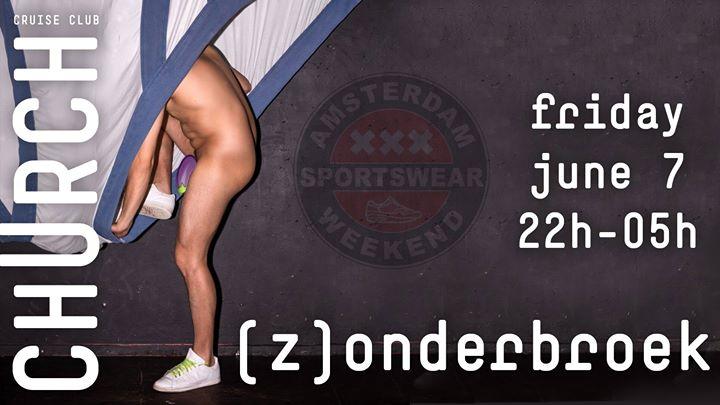 ASW (Z)onderbroek à Amsterdam le ven.  7 juin 2019 de 23h00 à 05h00 (Sexe Gay)
