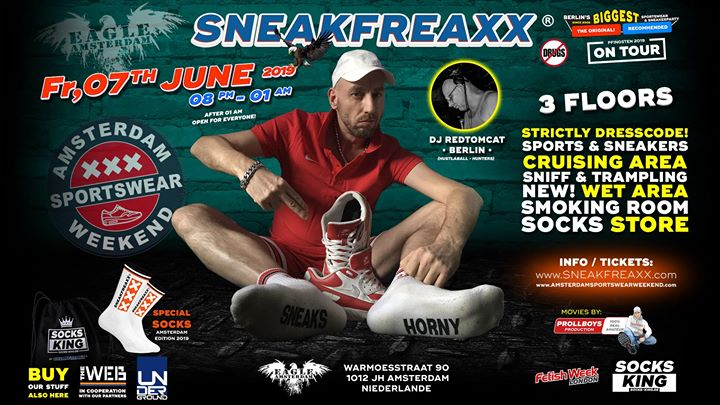 ASW Sneakfreaxx in Amsterdam le Fri, June  7, 2019 from 08:00 pm to 01:00 am (Festival Gay)