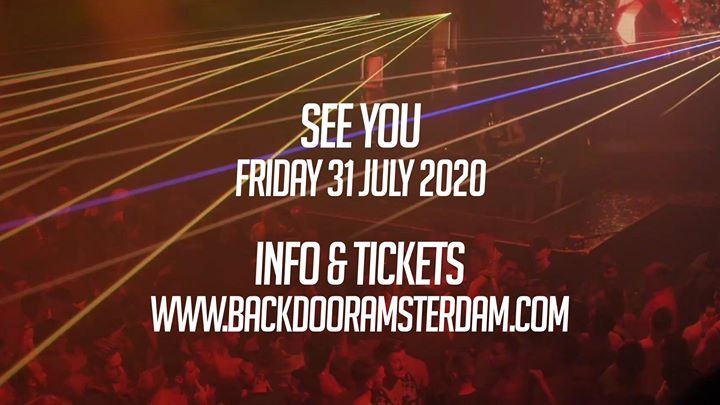 BACKDOOR Amsterdam - Massive PRIDE Edition 2020 (Share + Invite) in Amsterdam le Fr 31. Juli, 2020 23.00 bis 06.00 (Clubbing Gay)