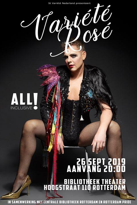 Variété Rosé a Rotterdam le gio 26 settembre 2019 20:00-22:00 (After-work Gay, Lesbica)