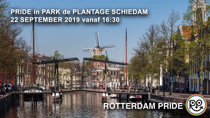Pride in Park De Plantage Schiedam en Rotterdam le dom 22 de septiembre de 2019 16:30-21:30 (Festival Gay, Lesbiana)