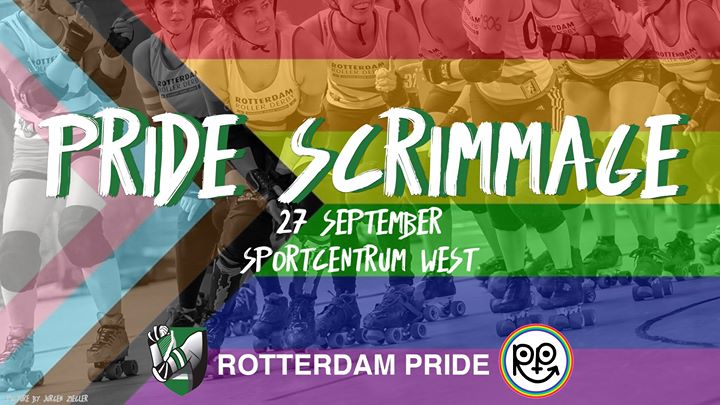 RRD Roller Derby Pride Scrimmage a Rotterdam le ven 27 settembre 2019 19:00-21:00 (After-work Gay, Lesbica)